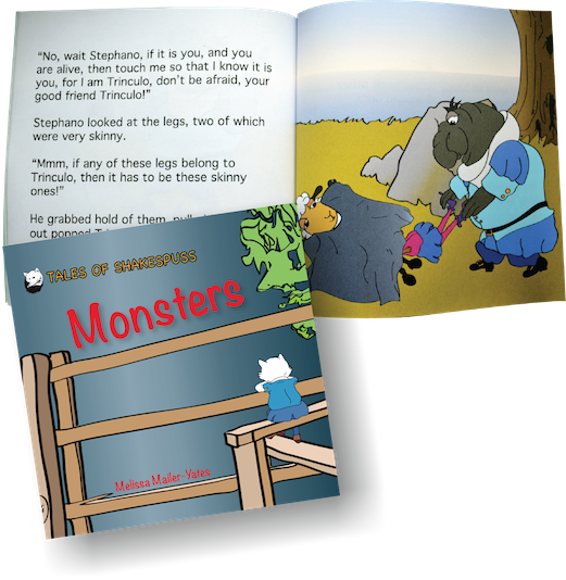 Monsters example pages